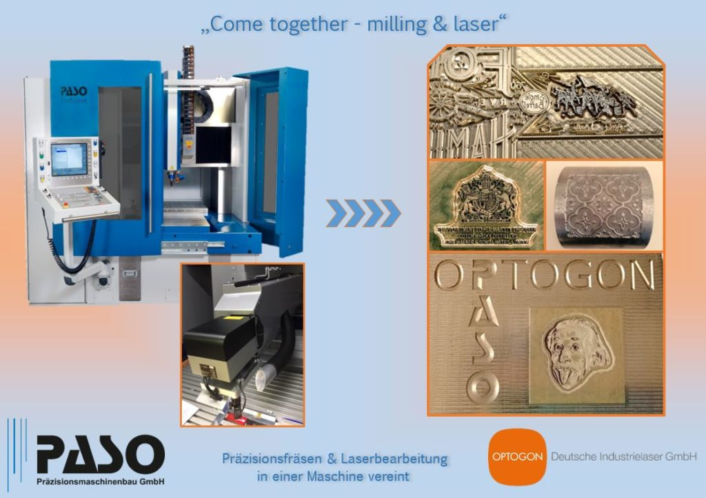 Come together - milling & laser